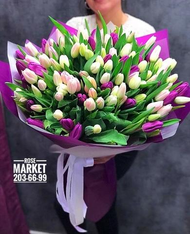 151 тюльпан микс  #17301