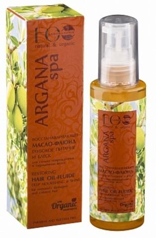 EO Laboratorie Argana Spa Масло-флюид для волос Восстанавливающее 100мл
