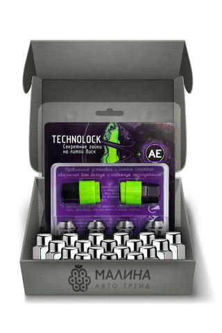 Готовый набор из колёсных гаек М12x1/2 и комплекта секреткок TECHNOLOCK AE