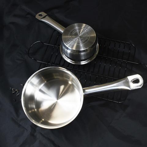 5176 FISSMAN Ковш ARIELLE 14x7см / 1л без крышки (нерж.сталь),  купить