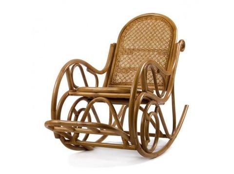 Кресло-качалка Moscow (S2-MATT) золотой мед