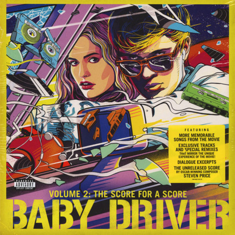 Виниловая пластинка. OST Baby Driver Volume 2: The Score For A Score