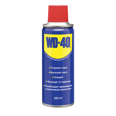 Универсальное очищающее средство WD-40 для тысячи применений 200 мл