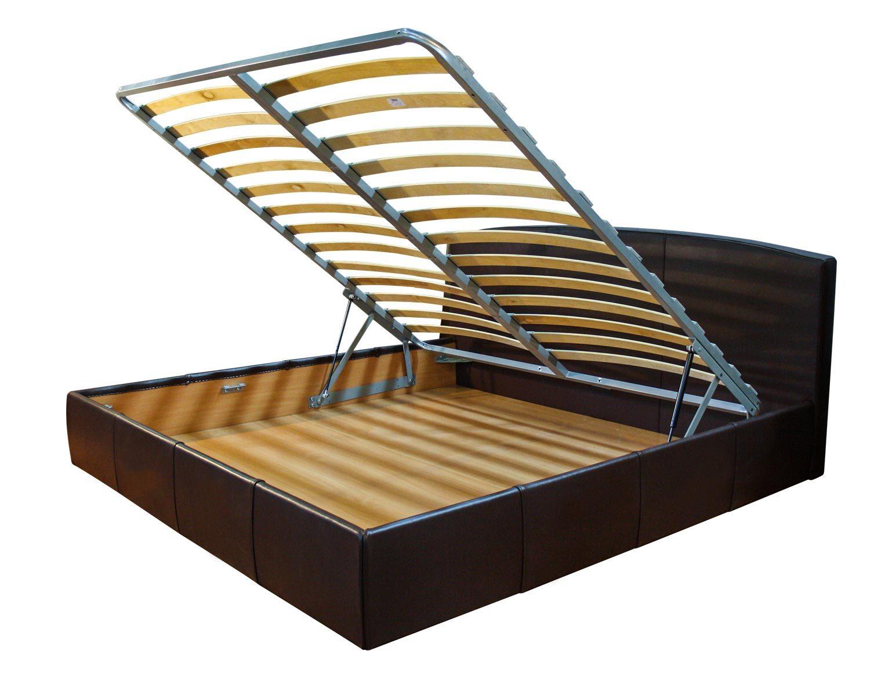 Кровать Севилья с ортопедическим основанием, с подъемным механизмом и ящиком для белья