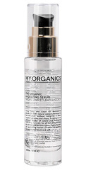 Увлажняющая сыворотка с аргановым и льняным маслом, My.Organics