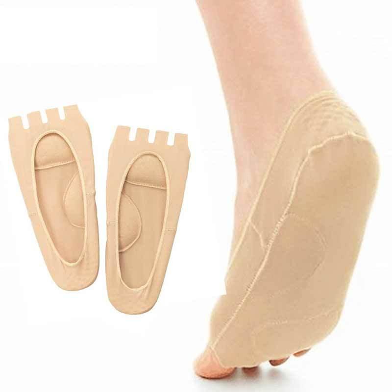 Ортопедические следочки-невидимки с раздельными пальцами