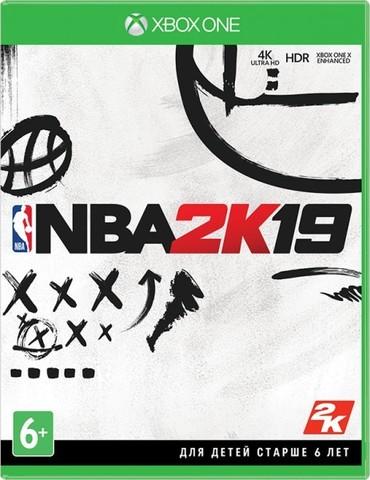 Xbox One NBA 2K19 (английская версия)