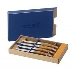 Набор столовых ножей Opinel VRI Olive Wood (4 штуки)