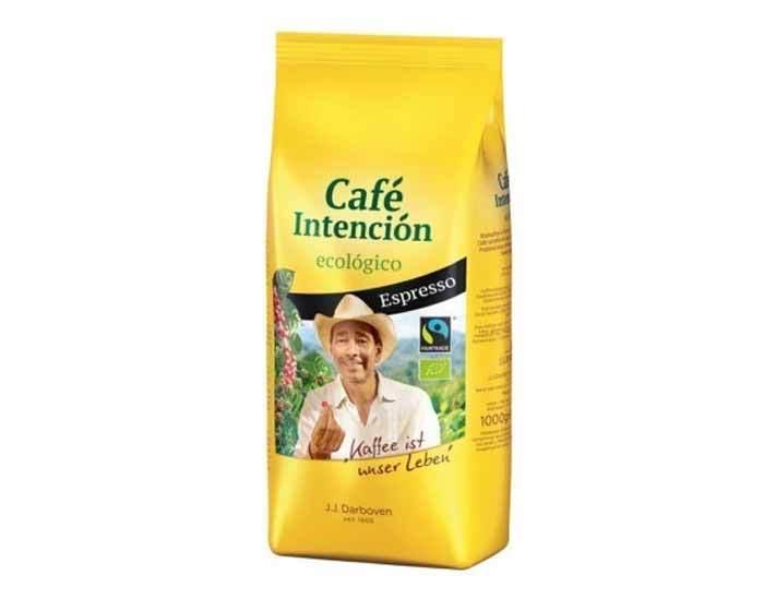 Кофе в зернах J.J. Darboven Intencion Ecologico Espresso, 1 кг