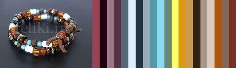 цветовая палитра для одежды под браслет