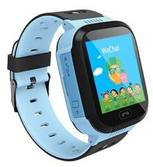 Кнопка Жизни Часы-телефон с GPS (синие) (J112)