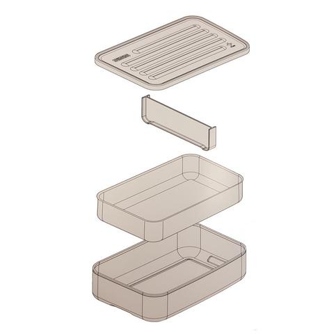 Ланчбокс Sigg Metal Box Plus L (1,4 литра), зеленый