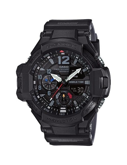 Часы мужские Casio GA-1100-1A1ER G-Shock Premium