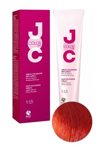 Крем-краска для волос 8.44 светлый блондин медный глубокий JOC COLOR, Barex