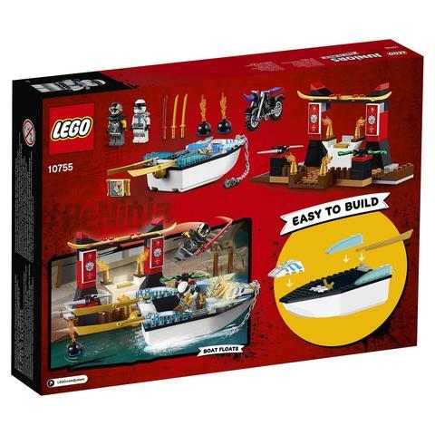 LEGO Juniors: Погоня на моторной лодке Зейна 10755 — Zane's Ninja Boat Pursuit — Лего Джуниорс Подростки