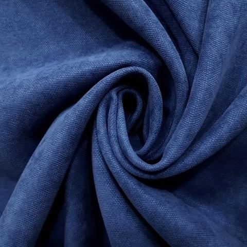 Канвас - ткань для штор - синий. Ширина - 280 см. Арт. 20