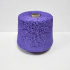 Bourette, Шёлк 100%, Сиренево-фиолетовый, буретный, букле 1/13, 1300 м в 100 г