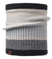 Вязаный шарф-труба с флисовой подкладкой Buff Comfort Borae Grey