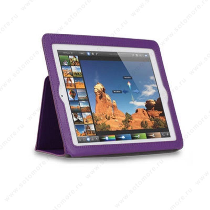 Чехол-книжка Yoobao для Apple iPad 4/ 3/ 2 - Yoobao Executive Leather Case Purple