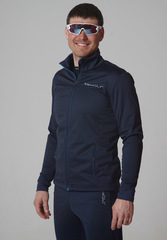 Детская тёплая лыжная куртка Nordski Motion BlueBerry