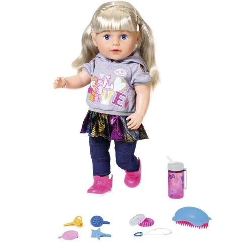Беби Бон кукла Сестричка Блондинка 43 см