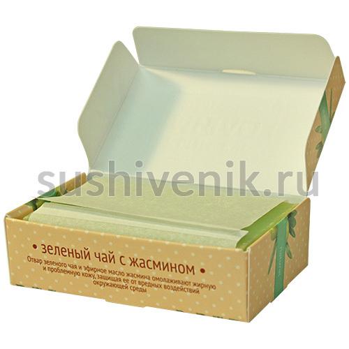 Мыло с отваром зеленого чая
