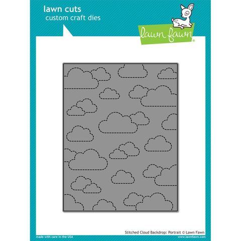 Нож  для вырубки 11х14см -Stitched Cloud Backdrop: Portrait