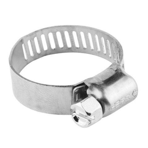 Хомуты, нерж. сталь, просечная лента 12.7 мм, 19-44 мм, 100 шт, ЗУБР Профессионал