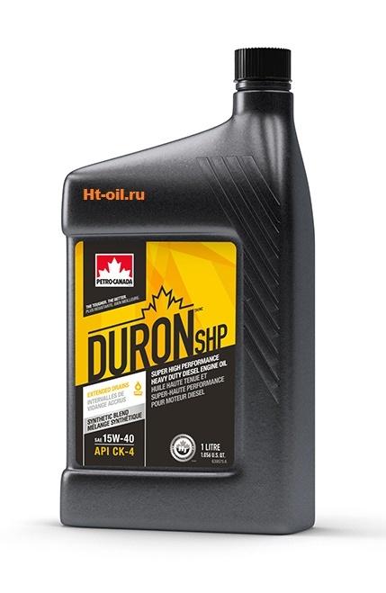 DURON SHP 15W-40 моторное масло для дизельных двигателей Petro-Canada (1 литр)