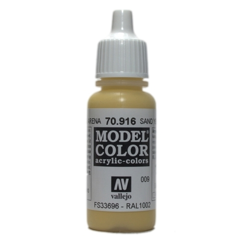 Model Color Sand Yellow 17 ml.
