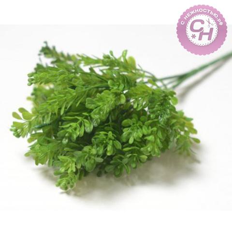Искусственная зелень Самшит, букет 5 веток, 30 см.