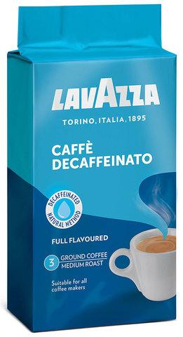 Кофе молотый Lavazza Caffe Decaffeinato, 250 г