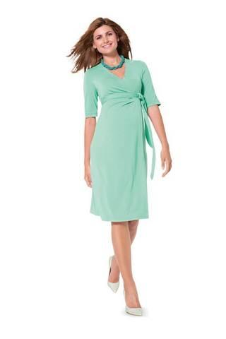 Выкройка Burda (Бурда) 6957 — Платье, Блузка с запахом для будущей мамы