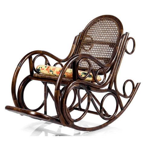 Кресло-качалка NOVO с подушкой (004.001) орех