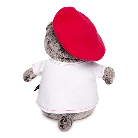 Кот Басик в футболке с принтом