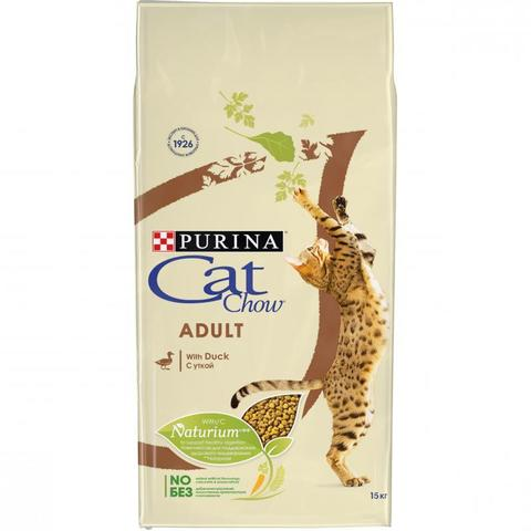 Cat Chow Adult - для кошек с уткой