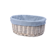 Плетеная корзина для ванной WasserKRAFT Rossel WB-280-S
