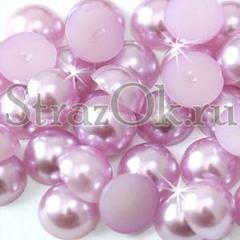 Купите полубусины Light Amethyst светло-фиолетовые в магазине StrazOK.ru