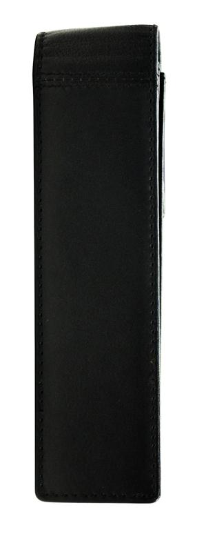 Чехол для ручки Cross, двойной, кожаный, цвет черный