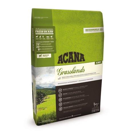 Acana Regionals Grasslands Cat корм беззерновой для кошек (ягненок) 5,4 кг