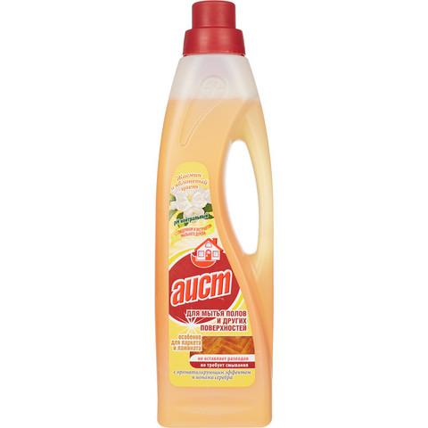 Средство для мытья пола АИСТ с бактерицид.эффектом жасмин и яблоневый цвет