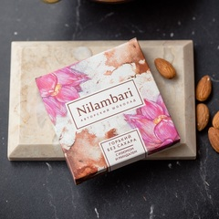 Шоколад Nilambari горький с миндалем и изюмом, 65 г
