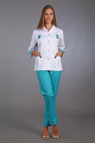 Костюм медицинский жен. М-120 ткань Элит-145