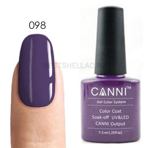 Canni Canni, Гель-лак № 098, 7,3 мл 098.jpg