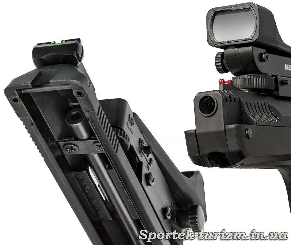 Види пружинно-поршневого пневматичного пістолета Beeman P17