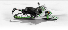 Снегоход Arctic cat M 8000 153 Sno Pro Limited green фото