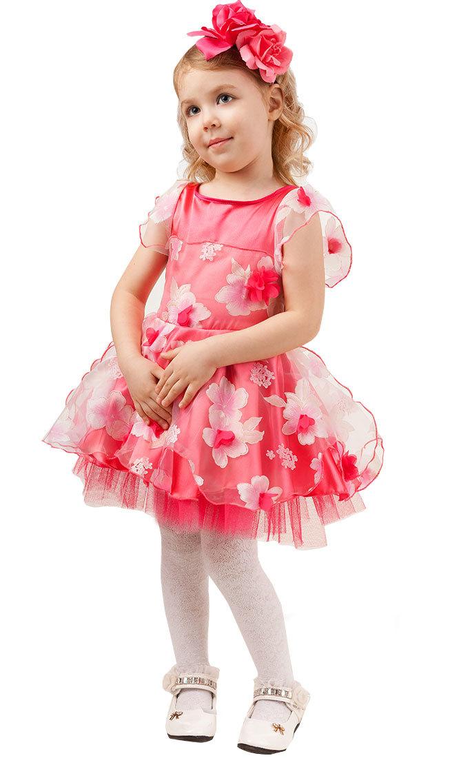 Карнавальный костюм детский Розочка