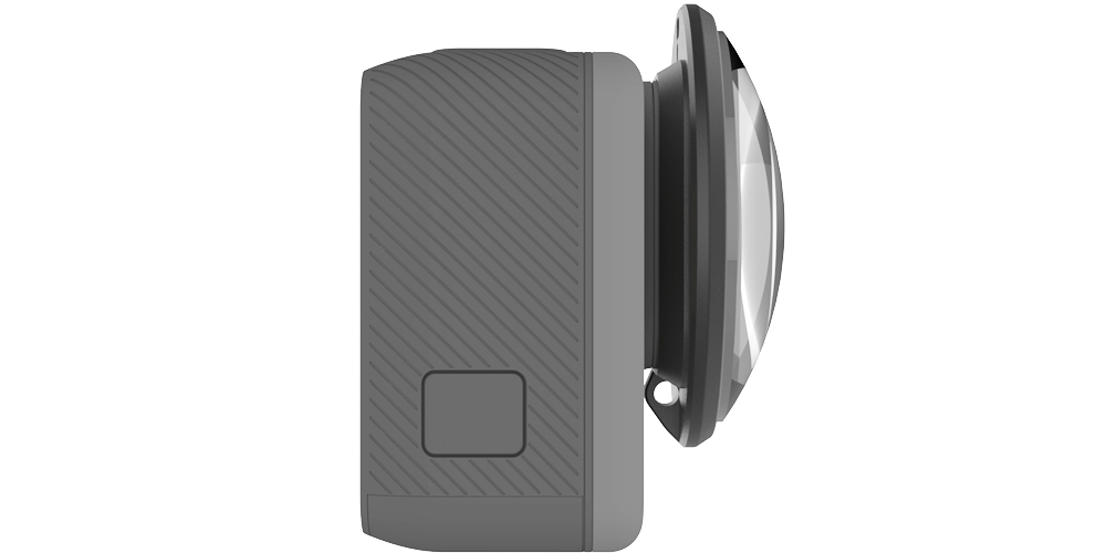Макролинза PolarPro для HERO5 Black и HERO6 Black сбоку