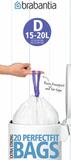 Пакет пластиковый 15-20л 20шт, артикул 246760, производитель - Brabantia