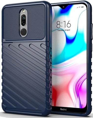 Чехол Xiaomi Redmi 8 цвет Blue (синий), серия Onyx, Caseport